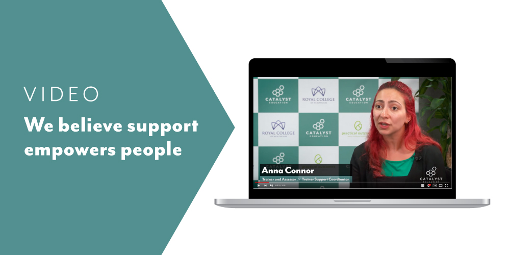 VIDEO: Making a difference through trainer support