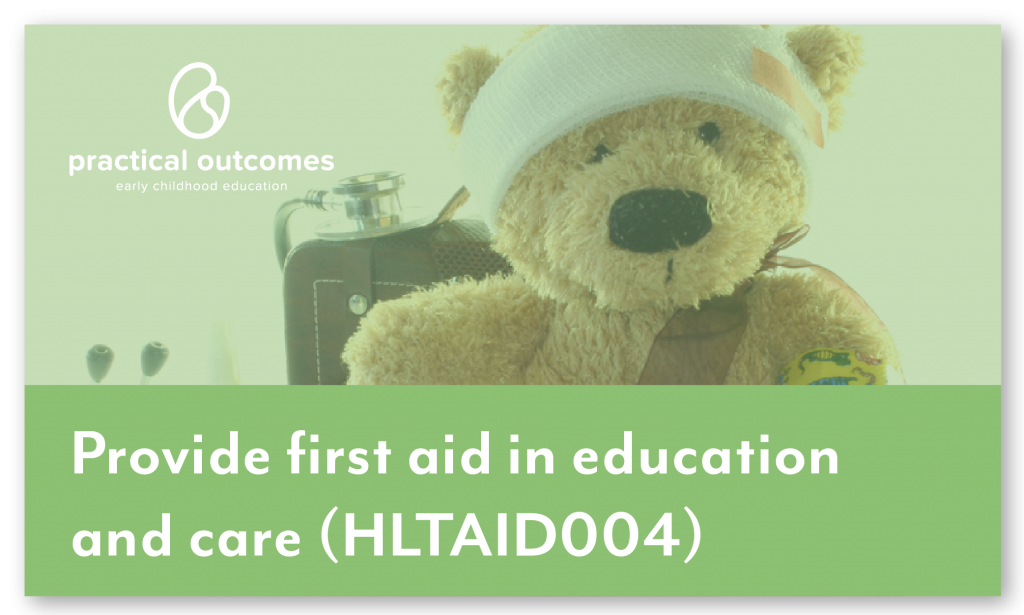 Provide first aid in education and care