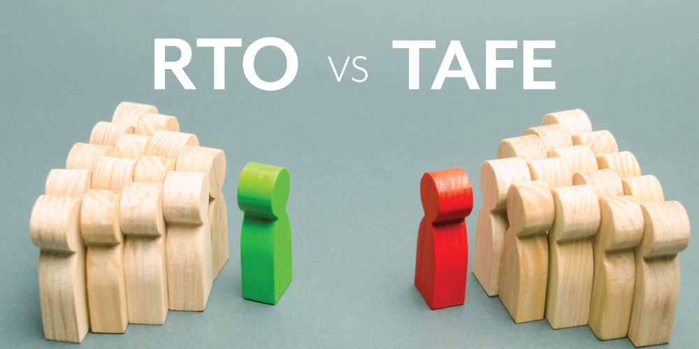 RTO vs TAFE – What is the difference?